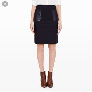 Club Monaco Nadine Pencil Skirt Size 00